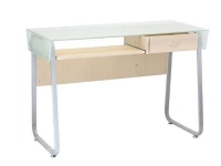 Computer Desk with Tempered Glass Top Xtech CT-1179